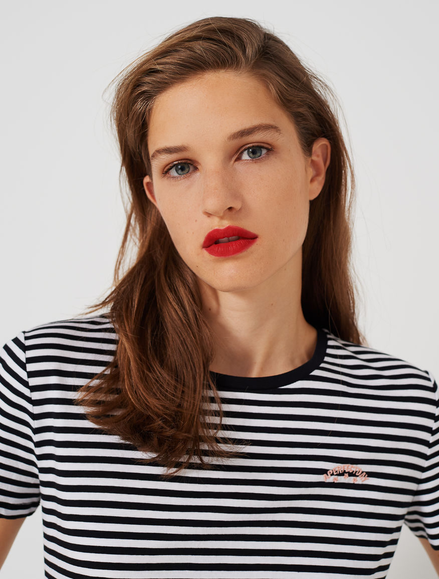 Striped T-shirt. Marella