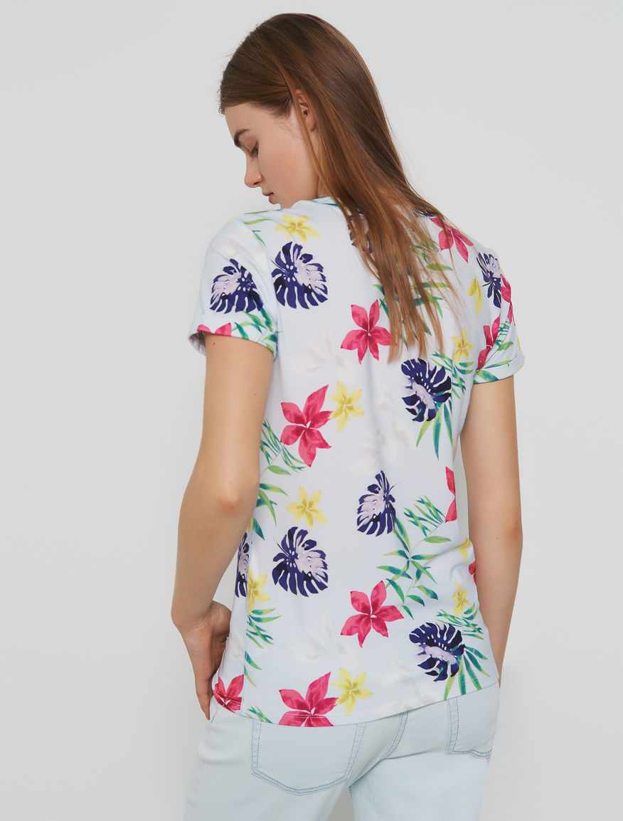 Patterned T-shirt Marella