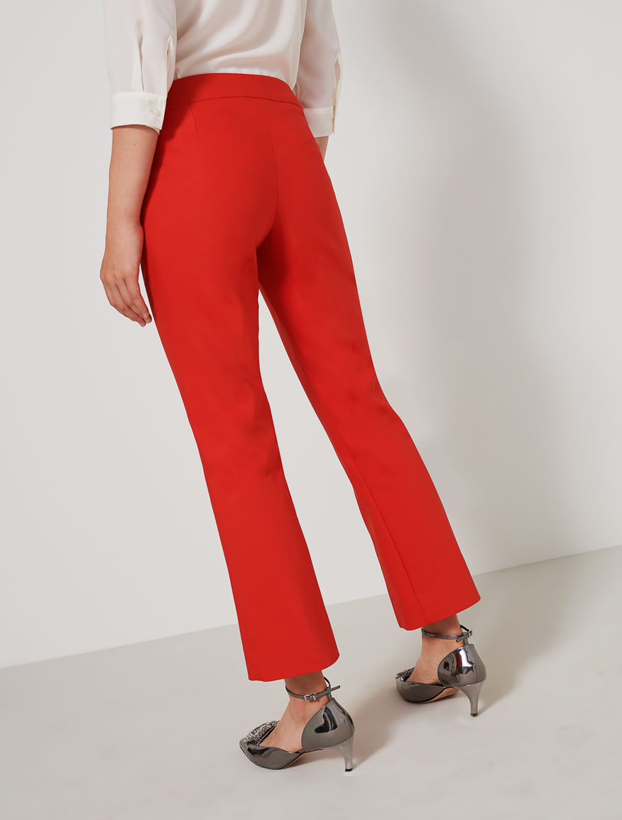 Trousers with slit Marella