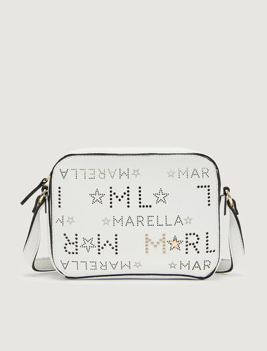 Bolso bandolera con logotipo Marella