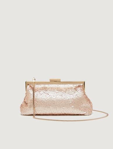 Clutch in paillettes Marella