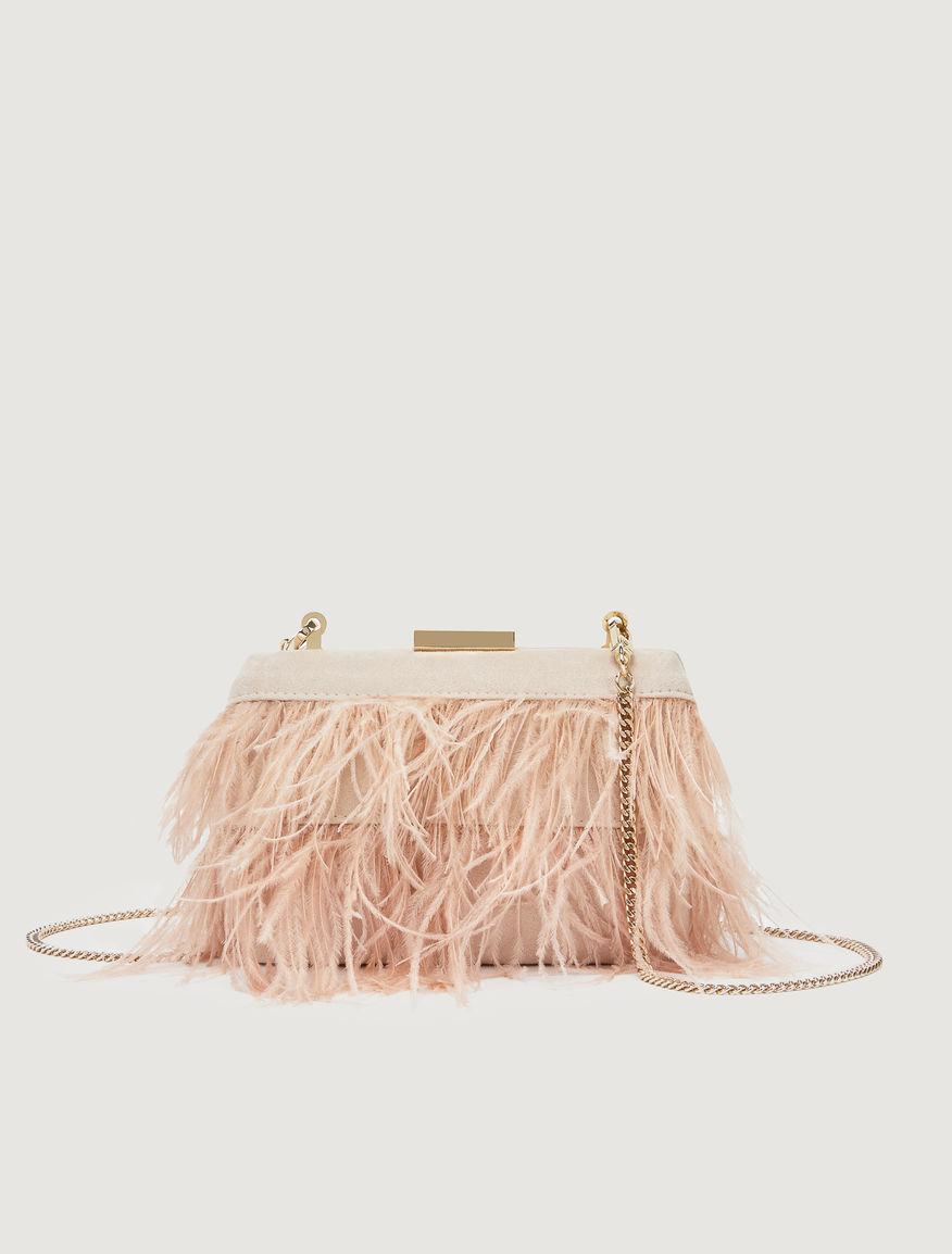 Feather clutch Marella