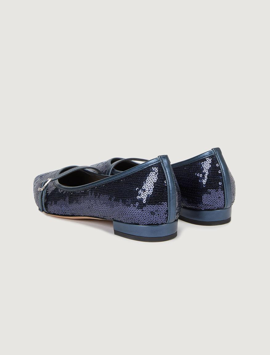 Pointed toe ballet flats Marella