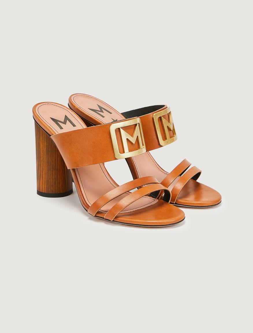 Logo sandals Marella
