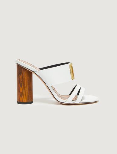 Sandales avec logo Marella