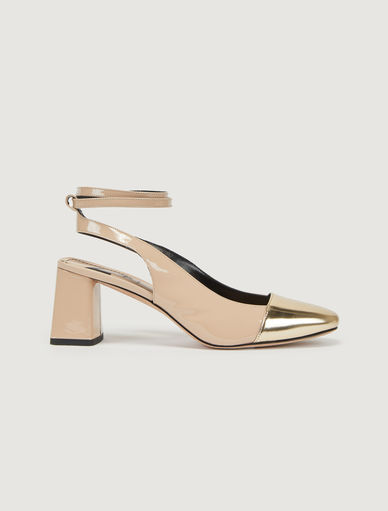 Leather slingbacks Marella