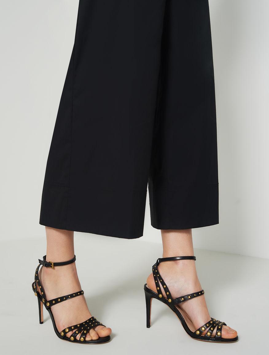 Studded sandals. Marella