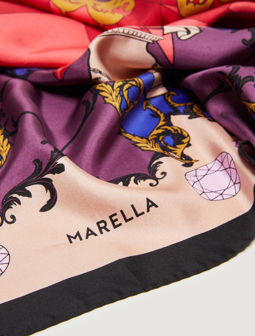 Fular de seda Marella