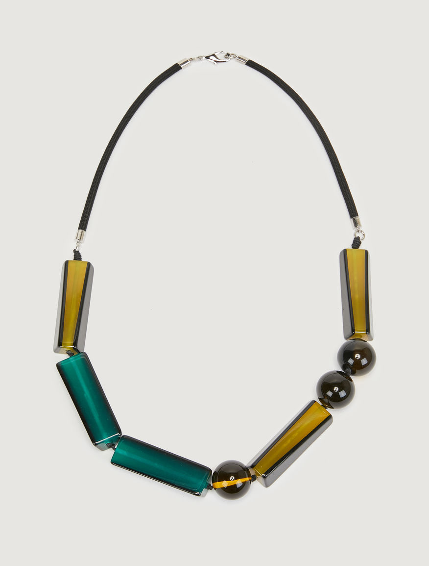 Resin necklace Marella