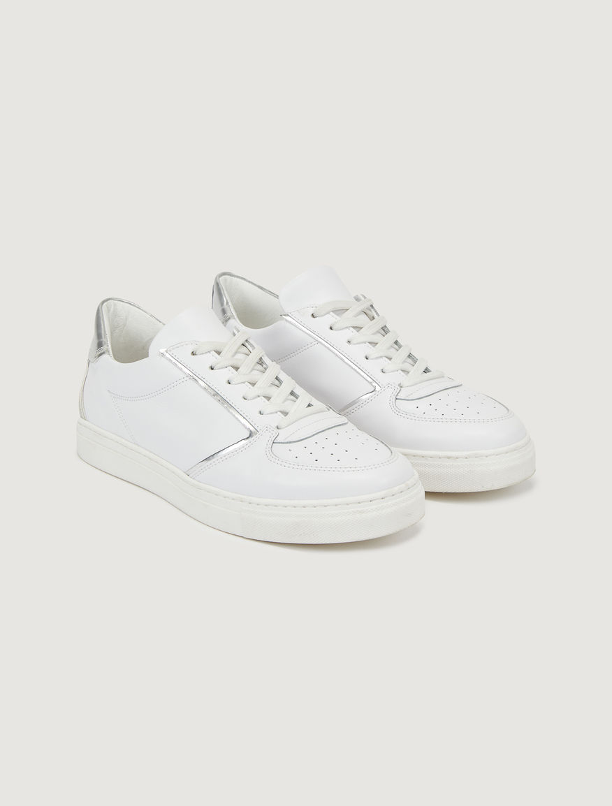 Leather trainers Marella