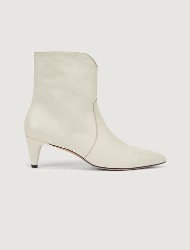 Leather ankle boots Marella