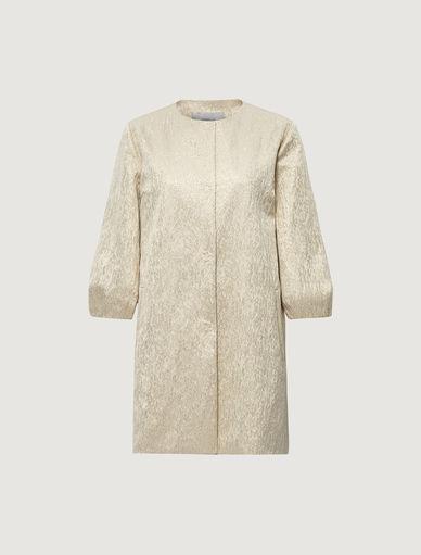 Jacquard duster coat Marella