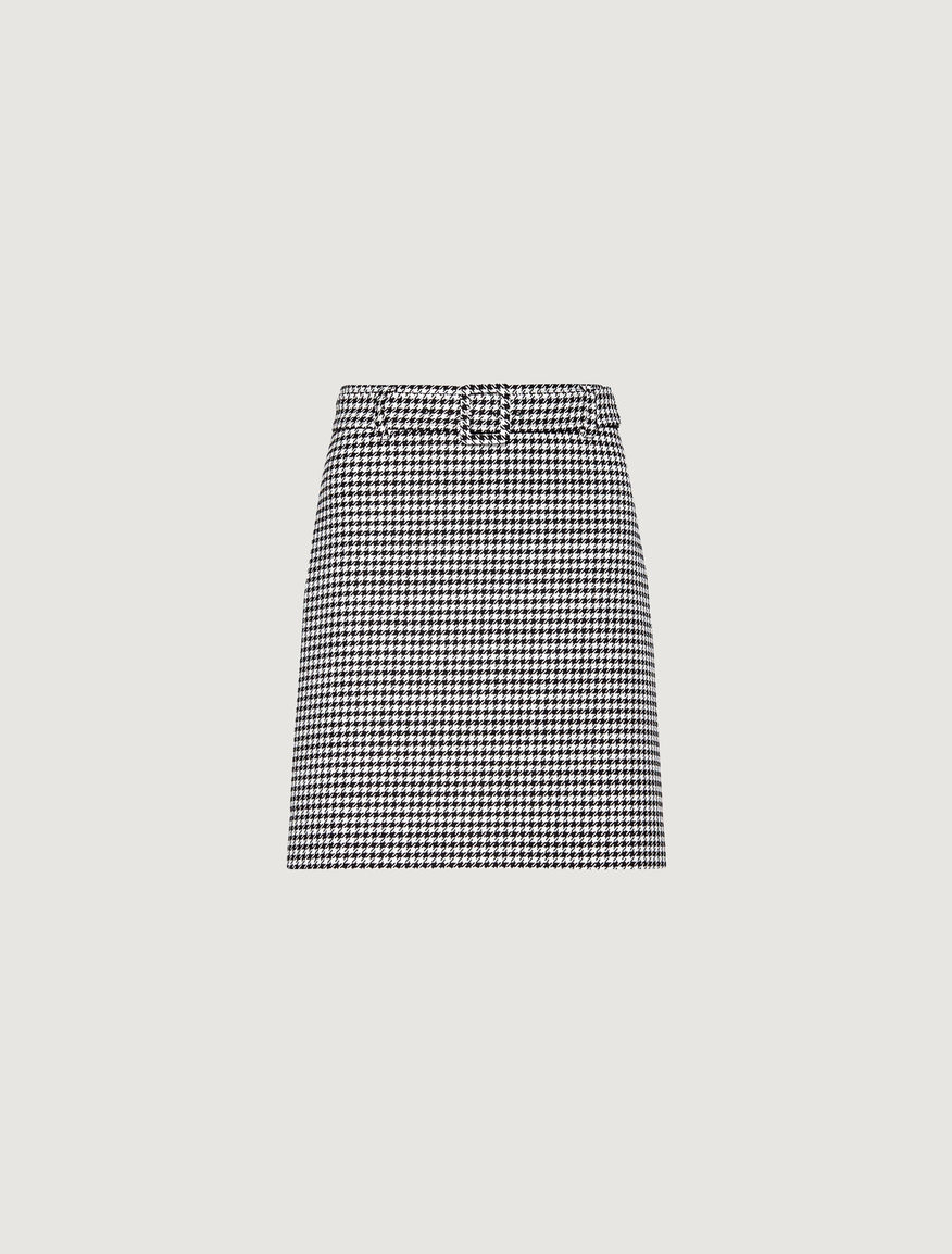 Gingham skirt Marella
