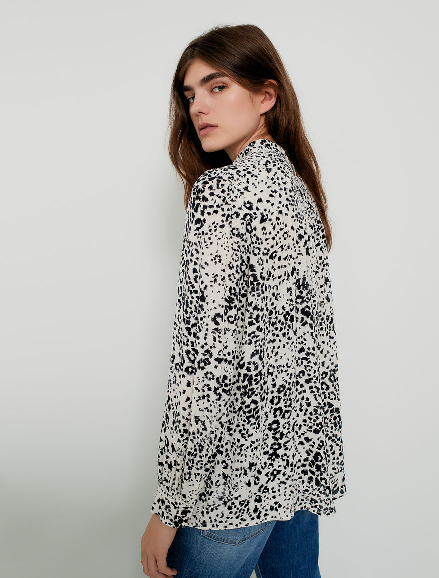 Animal-print blouse Marella
