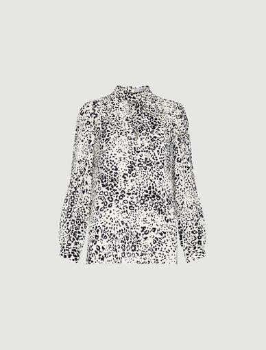 Animal-print blouse Marella