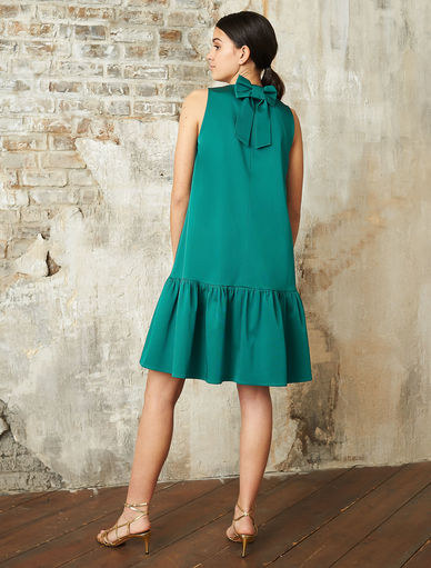 Dress with flounce Marella