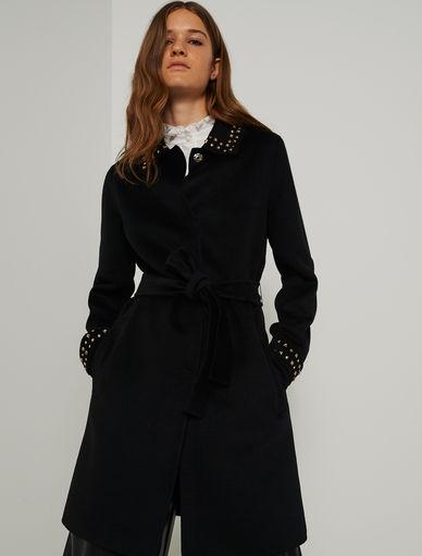 Cappotto con borchie Marella