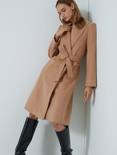 Cappotto con cintura Marella