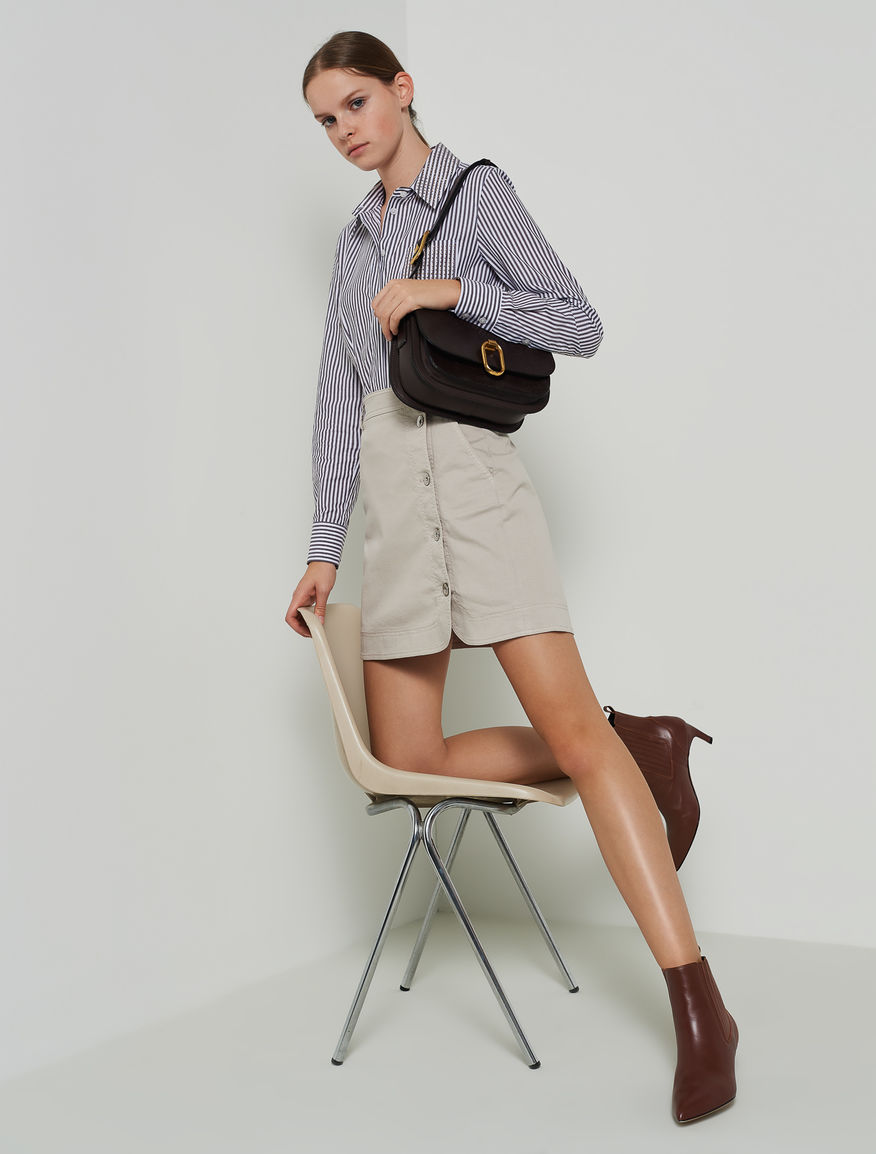 Mini skirt with buttons Marella