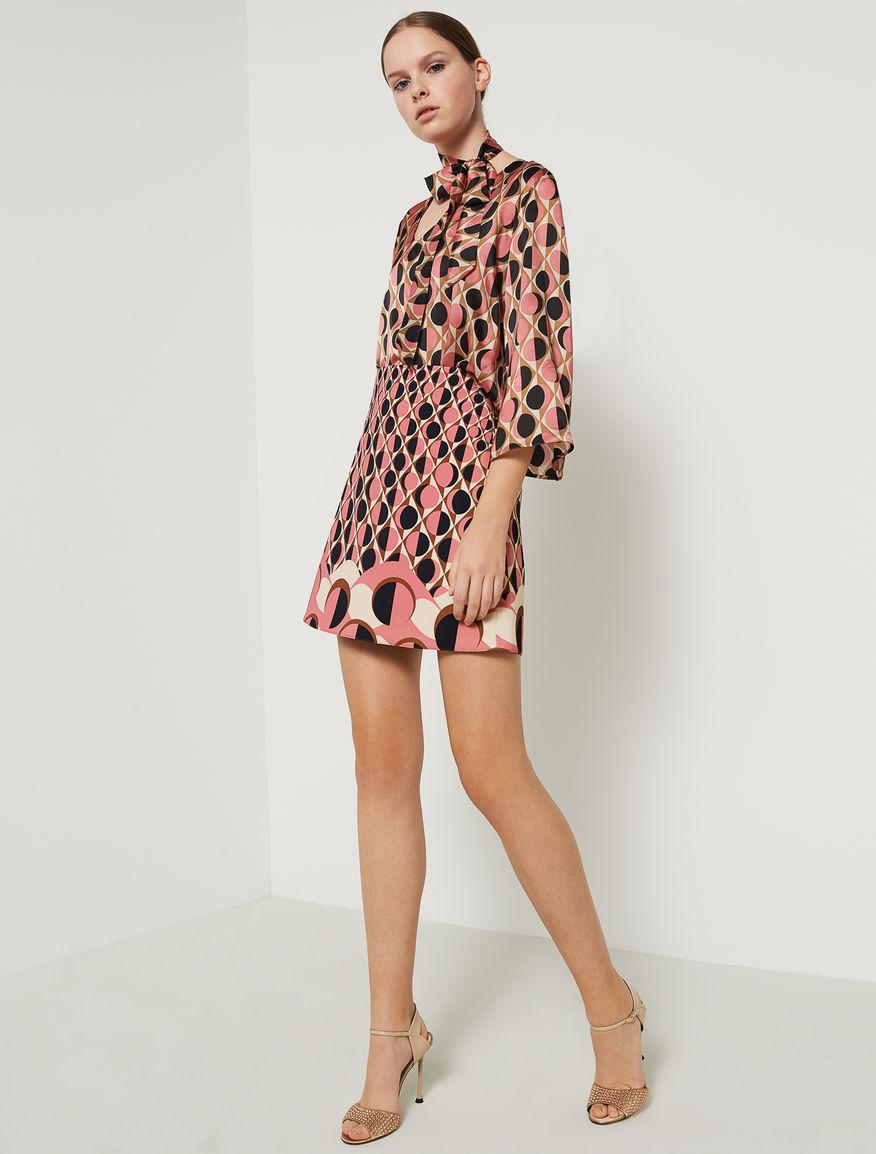 Patterned mini skirt Marella