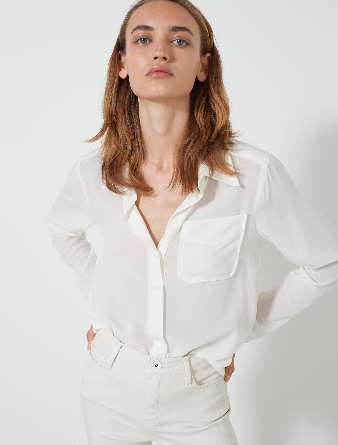 white Fascino 001 shirt  Marella  Skjorter
