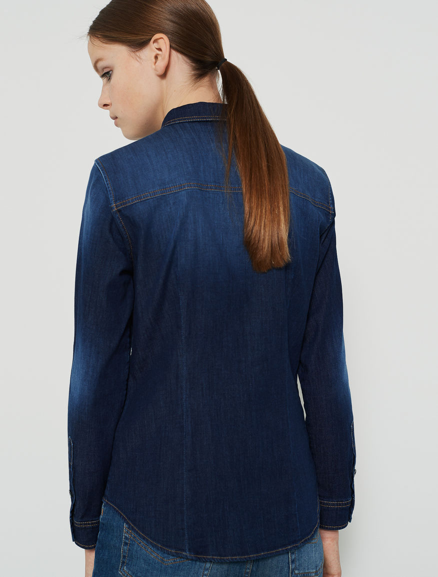 Denim shirt Marella