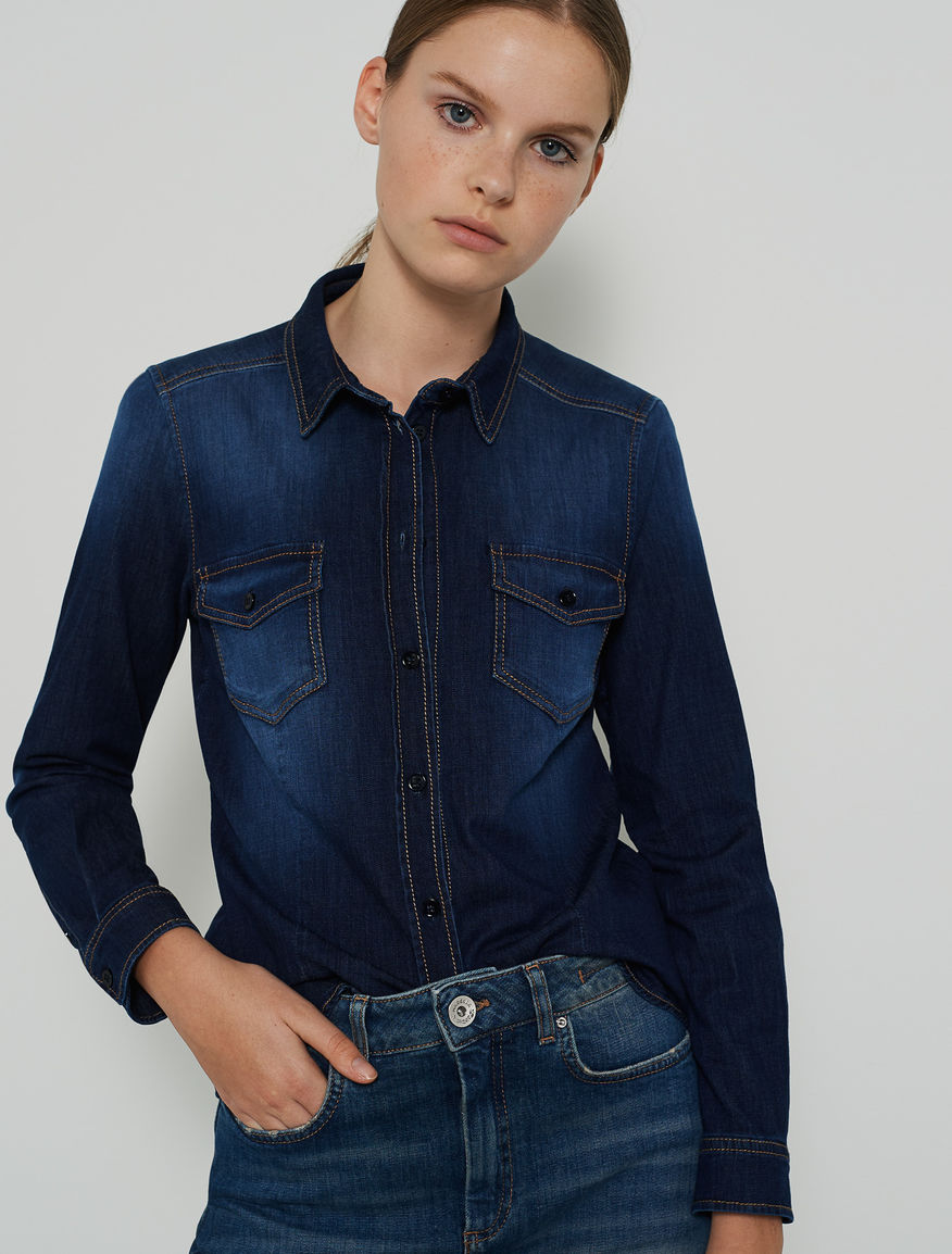 Denim shirt Marella