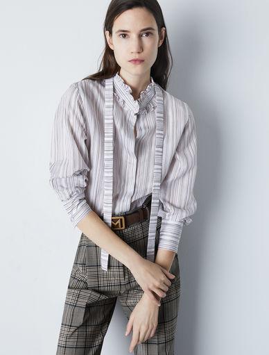 Ruffle shirt Marella