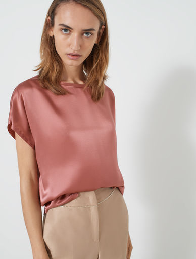 Top aus Satin Marella