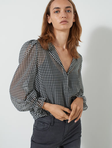 Blusa in georgette Marella