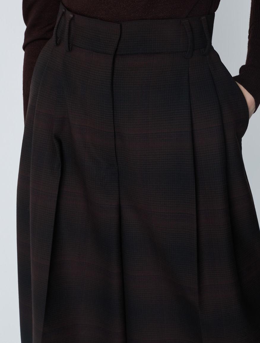 Falda-pantalón estampada Marella