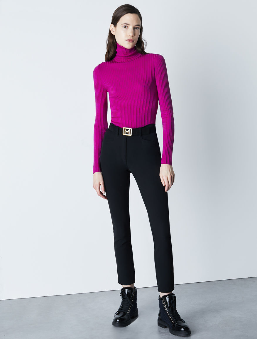 Skinny-fit trousers Marella