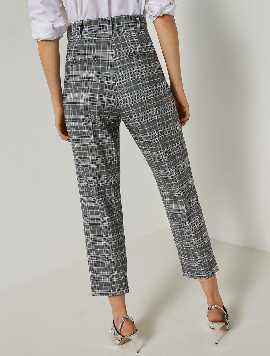 Tartan trousers Marella