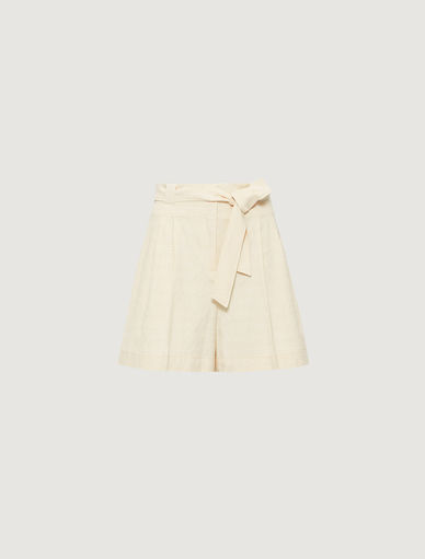Basketweave shorts  Marella