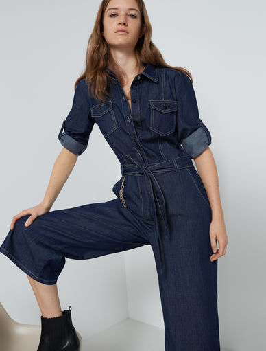 Tuta in denim Marella