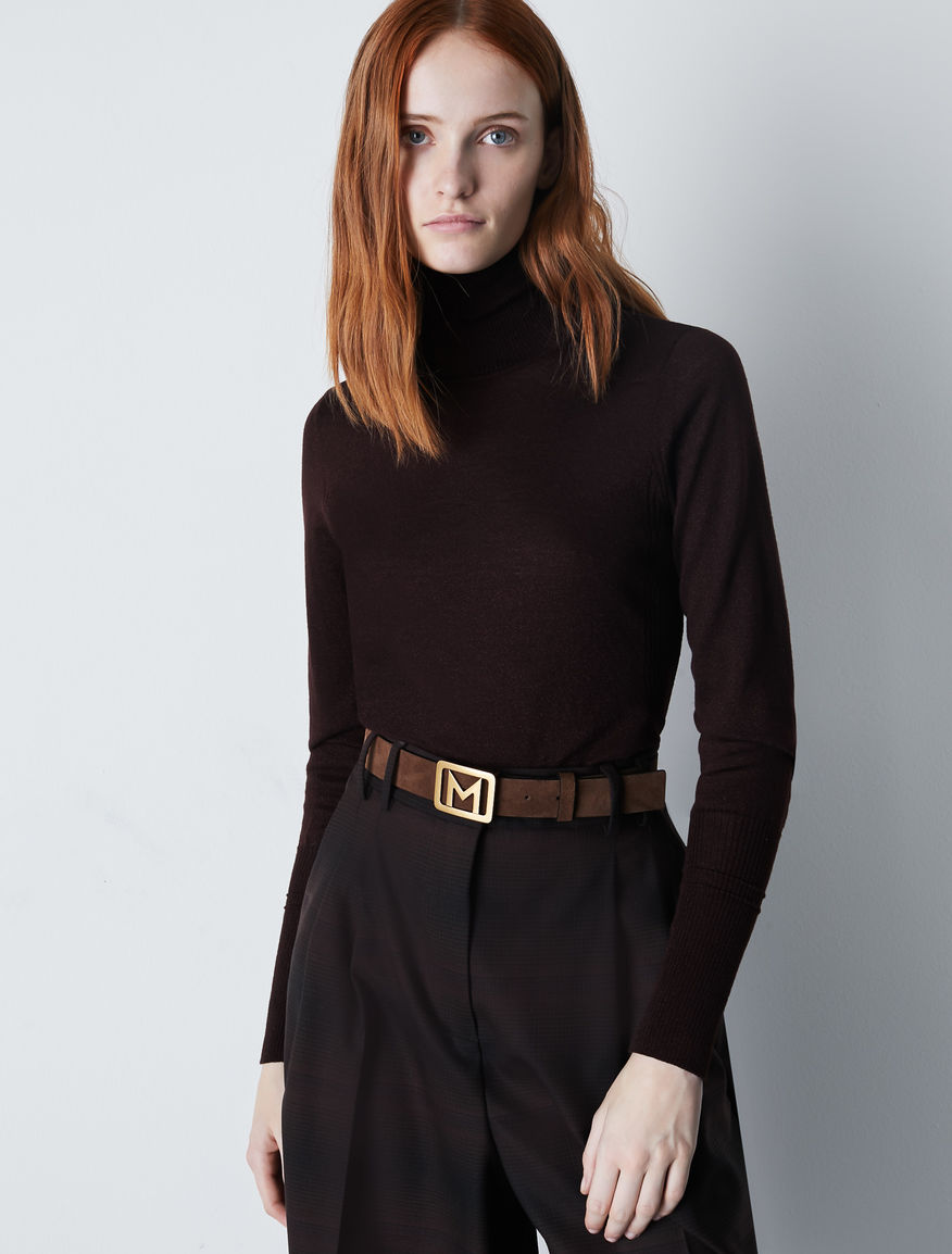 Wool polo neck jumper Marella