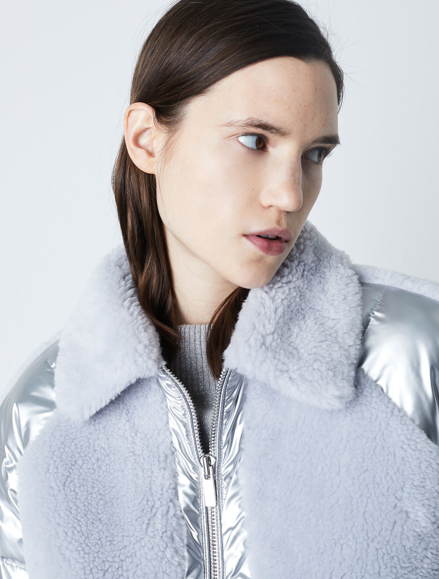 Laminated padded coat Marella