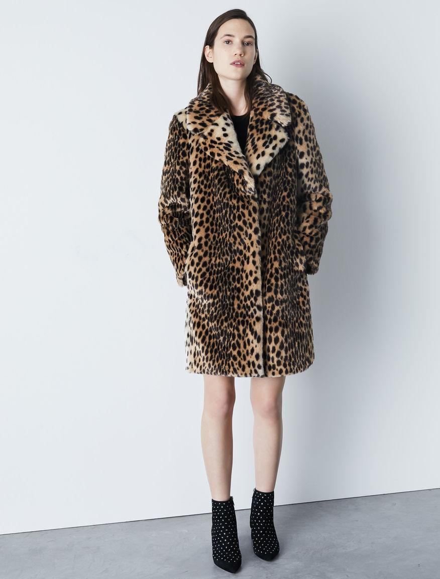 Animal print coat Marella