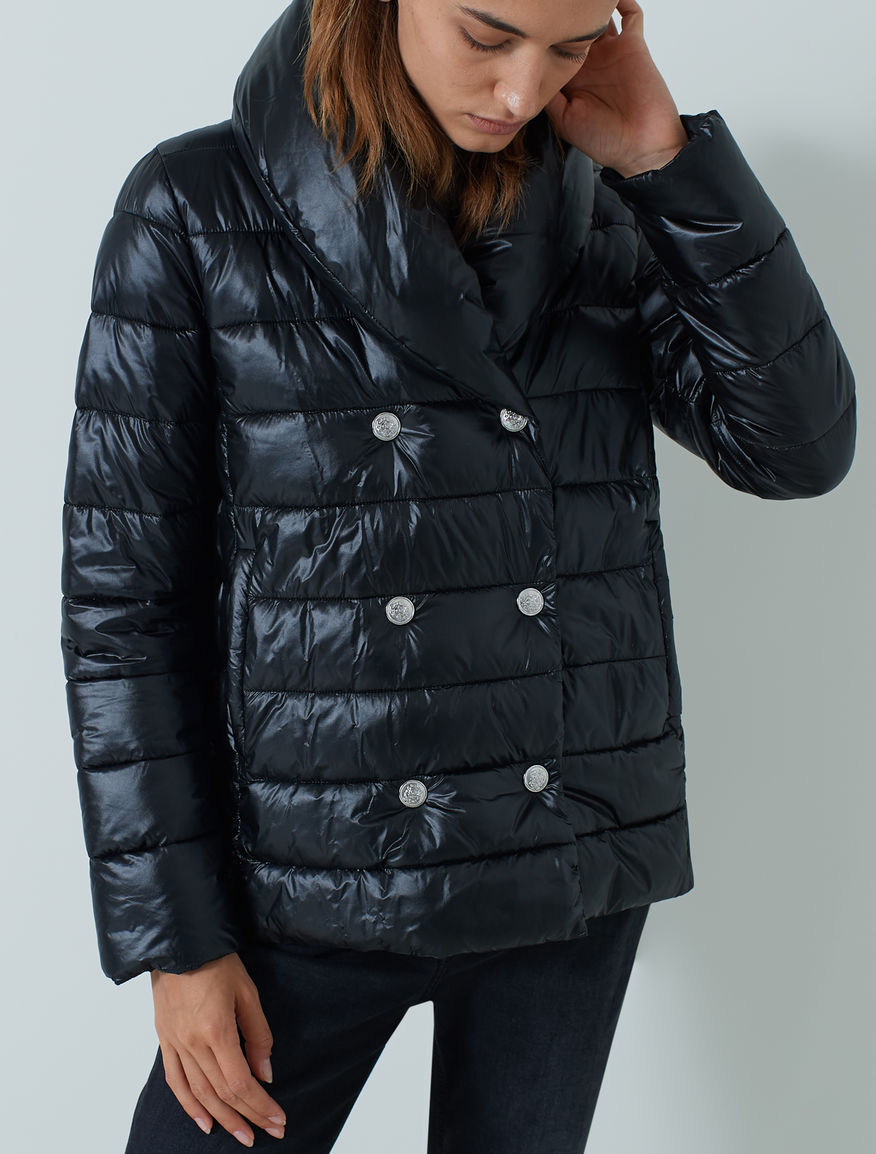 Double-breasted puffer jacket Marella