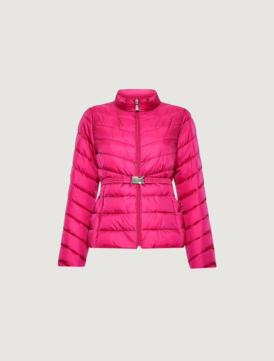 Puffer jacket with belt Marella