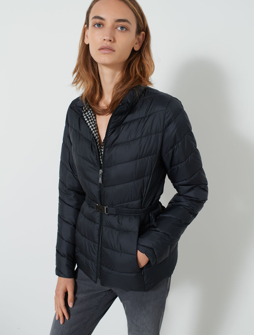 Puffer jacket with belt Marella