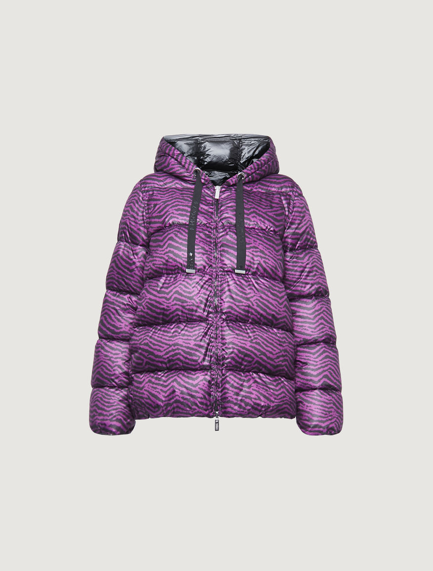 Patterned padded jacket Marella