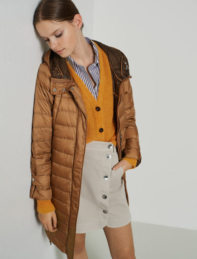 Hooded puffer coat Marella