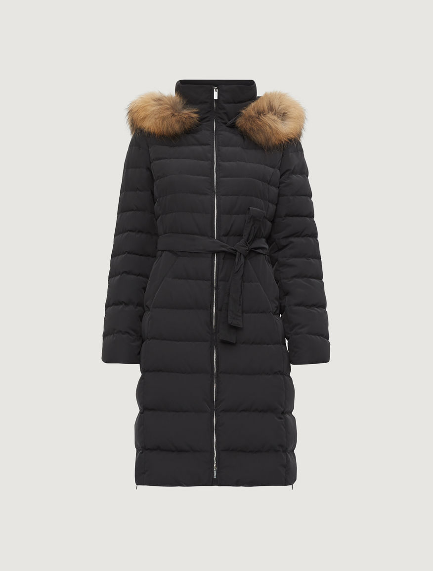 Belted puffer jacket Marella