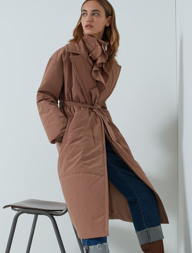 THINDOWN padded coat Marella