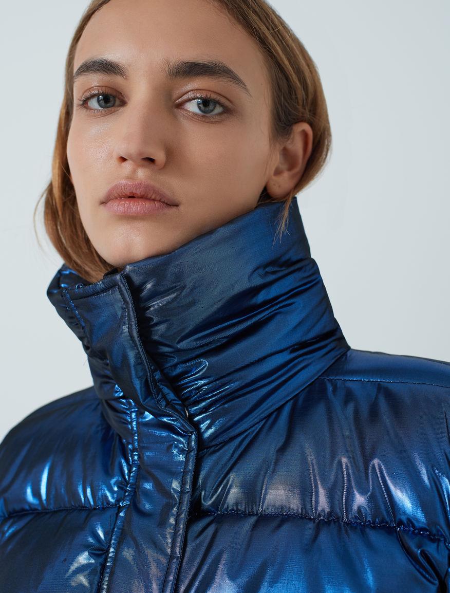 Lurex puffer jacket Marella