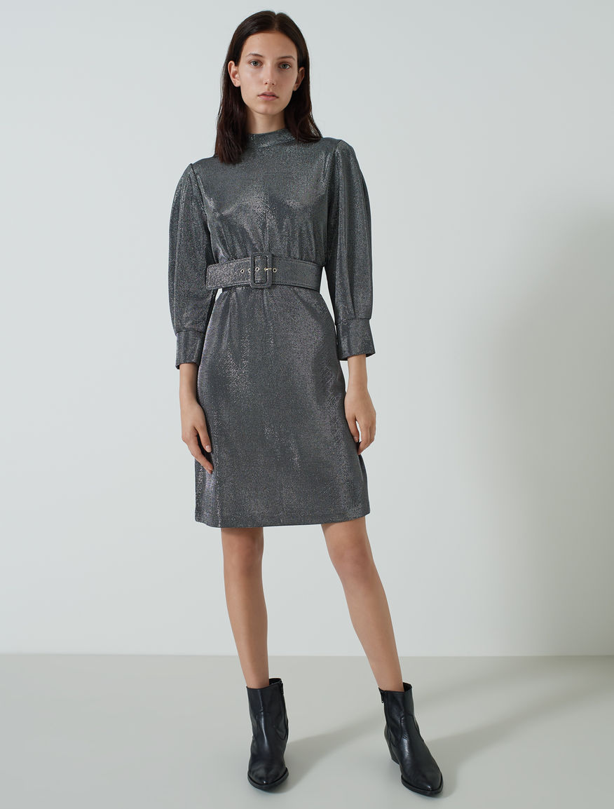 Lurex dress. Marella