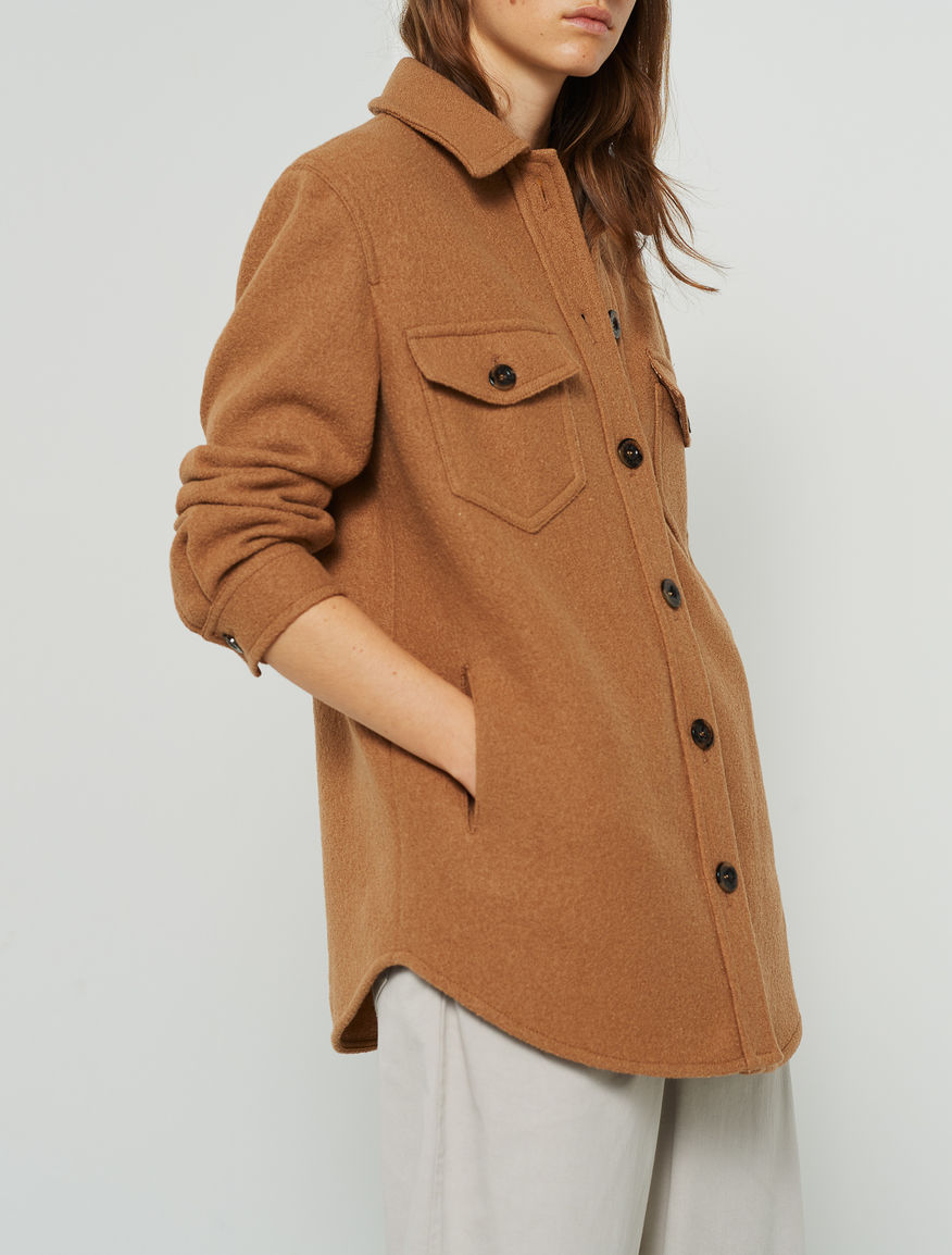 Wool shirt jacket Marella