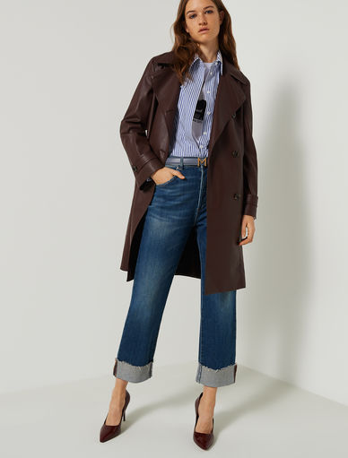 Double-breasted trench coat Marella