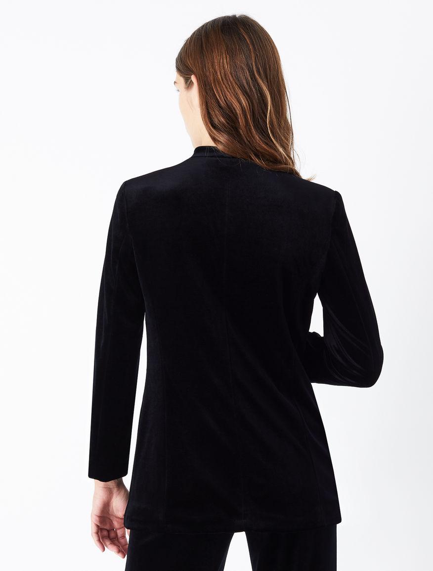 Velvet blazer Marella